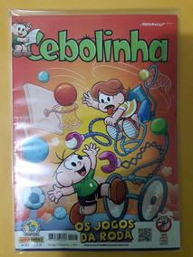 Revista Cebolinha N°17 - Os Jogos Da Roda