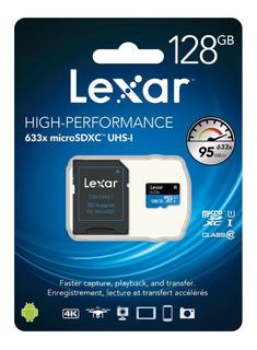 Cartão Micro Sd 128gb Lexar 633x