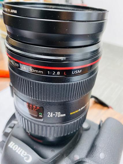 Lente Canon Ef 24-70mm F/2.8 L Usm