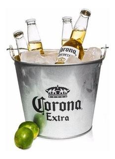 Cerveza Corona 6u 355ml + Frapera Original. Avellaneda.