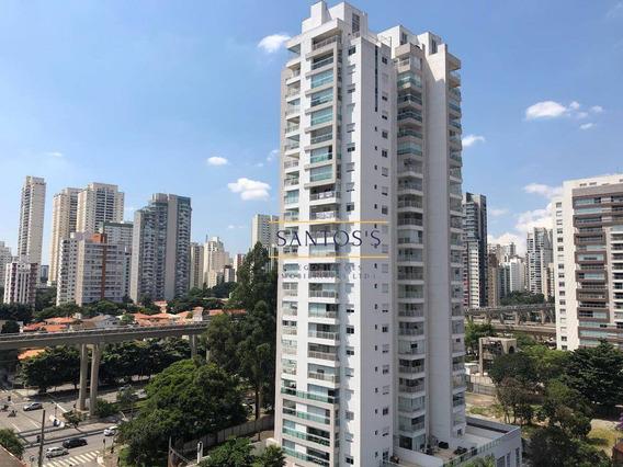 Apartamento Com 1 Dormitório À Venda, 45 M² Por R$ 598.000,00 - Brooklin - São Paulo/sp - Ap1481