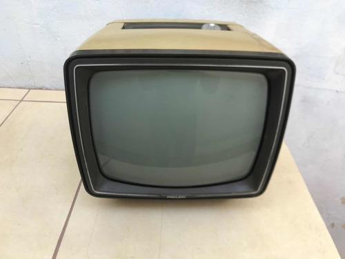 Tv Philco Soft Selecione Preto E Branco Antiga
