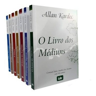 Coleção Allan Kardec 07 Grande + Revista Espirita Ano 58