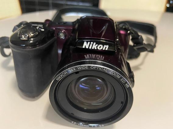 Câmera Semi Profissional Digital Nikon Coolpix L830