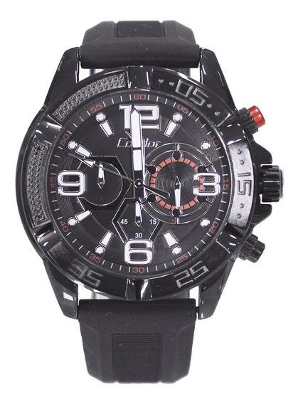 Relógio Condor Masculino Cronógrafo Preto Covd54avul/8p