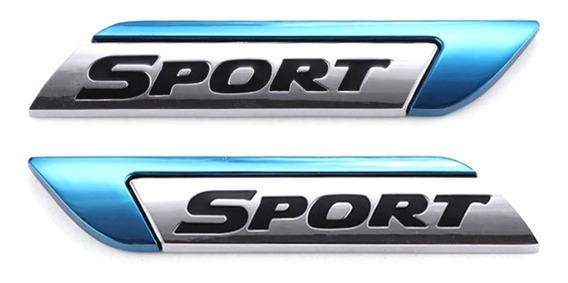 Acessorios Fiat Emblema Sport Cronos Mobi Uno Argo Palio Punto Siena Strada