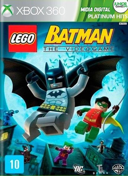Lego Batman 1 Xbox 360 Midia Digital