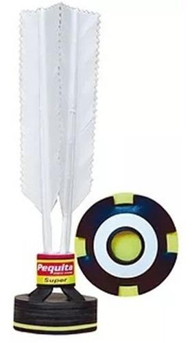 Imagem 1 de 1 de Kit Com 6 Petecas Super Pequita Oficial