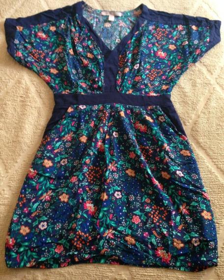 Vestido Forever 21 Floreado S Original Importado!!!!!!!!!!!!