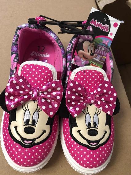 Tênis Infantil Minnie Disney