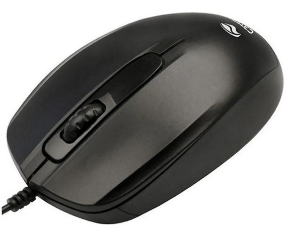 Mouse Óptico Usb Preto C3-tech Ms-30bk