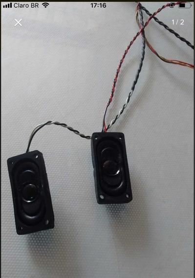 Par De Auto Falantes Monitor Aoc Lm520b 715l1034-2a 78l316-1