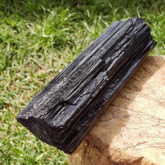 Cristal Pedra Bruta Bastão Turmalina Negra Afasta Mau-olhado