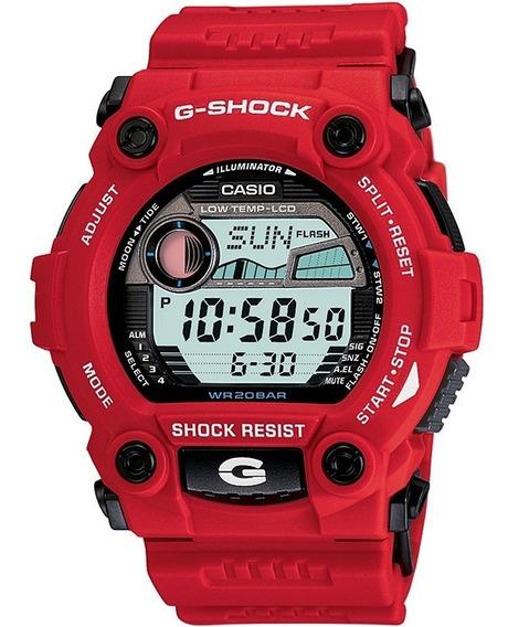 Reloj Casio G-shock G-7900a-4 Digital Rojo Para Hombre 20bar