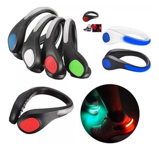 Luces Reflectoras Bicicleta Led Visibilidad Nocturna 2 Clip