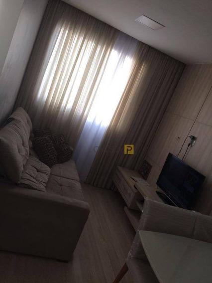 Apartamento Residencial À Venda, Chácara Letônia, Americana. - Ap0211