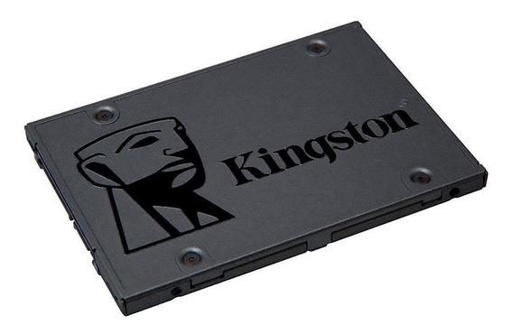 Ssd Kingston 120gb A400 Sata 3 Lacrado + Adaptador Caddy 9.5