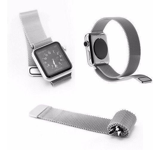 Pulseira Kopeck Magnética Cores Apple Watch 42 44 Série 1-4