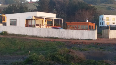 Casa En Pelluhue Con Excelente Vista Al Mar.