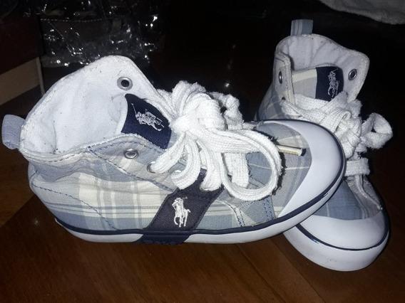 Zapatillas Botitas Polo Ralph Lauren Importadas Niños