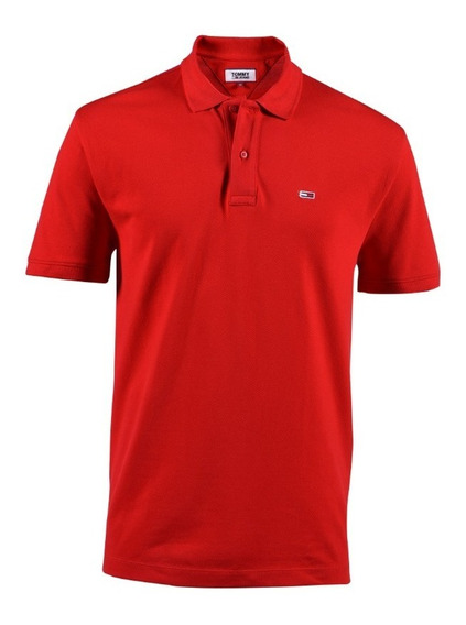 Polo Regular Fit Tommy Hilfiger Rojo Dm0dm07196-xa9s Hombre