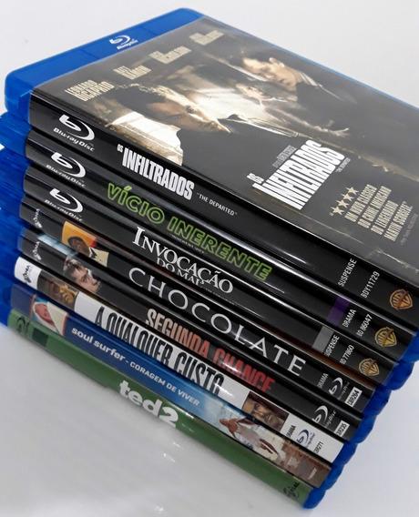 Combo 8 Filmes Blu-ray - Os Infiltrados, Vício Inerente, Etc