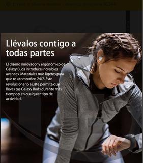Auriculares Inalámbricos Samsung Gala Y Buds