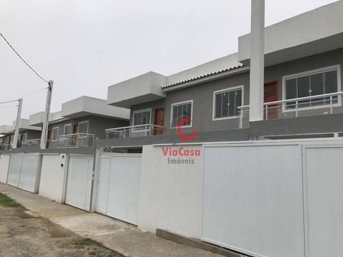 Casa Tipo Apartamento, 2 Quartos, Sendo 1 Suíte, Extensão Do Bosque - Rio Das Ostras - Rj - Ca1945