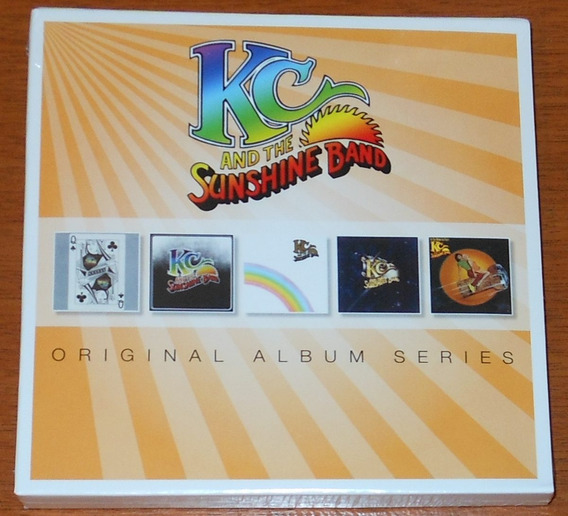 Cd - Kc & The Sunshine Band - Box 5 Cds Original Albums