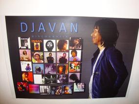 Poster De Coleção Djavan Vesúvio Cartaz Djavan Discografia