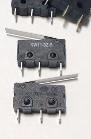 Kit 10 Chaves Micro-switch C/haste 23mm (kw11-3z-5 3t) 5anf