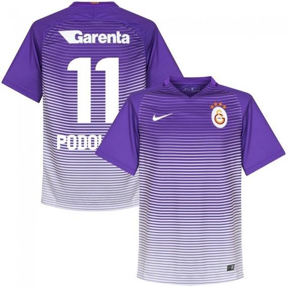 Camisa Galatasaray 3rd 17-18 Podolski 11 Importada