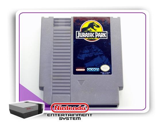 Jurassic Park Original Nintendinho Nes 8-bits