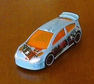 Hot Wheels Citroen C4 Rally Mainline 2012 - Loose