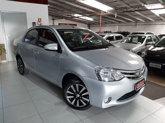 Toyota Etios 1.5 Platinum Sedan Flex Completo Couro Roda
