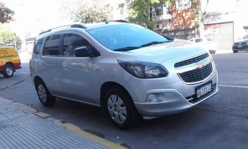 Chevrolet Spin Lt 2017 Gnc