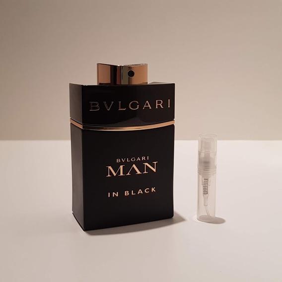 Perfume Bvlgari Man In Black Edp Amostra De 2ml