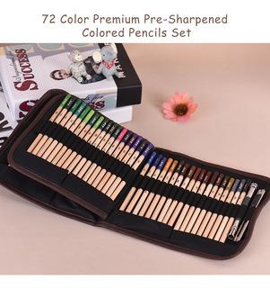 72 Color Prima Pre -sharpened De Colores Lápices Set Arte
