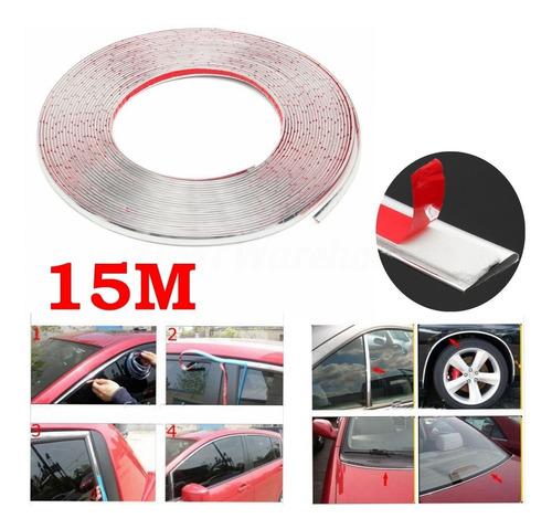 Estilo Do Carro 15 M Molduras Do Carro Tira Decorativa Tira