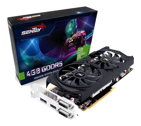 Sentey Gtx1050ti 4gb Nvidia Geforce 4k Gddr5 1 Hdmi + 2 Dvi