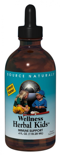 Fuente Naturals Wellness Herbal Niños Líquido, Para El Siste