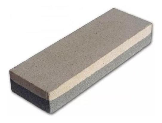 Pedra Amolar Afiar Faca Dupla Face 200mm 7642055 Mtx