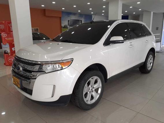 Ford Edge Limited Awd 2014 Blanco