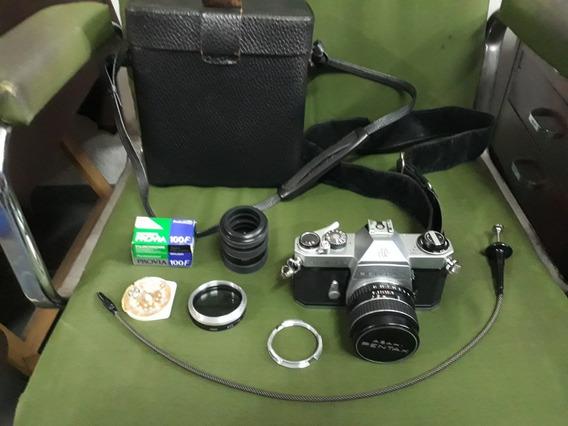 Máquinafotográficapentaxasahi1:1.8/55japan