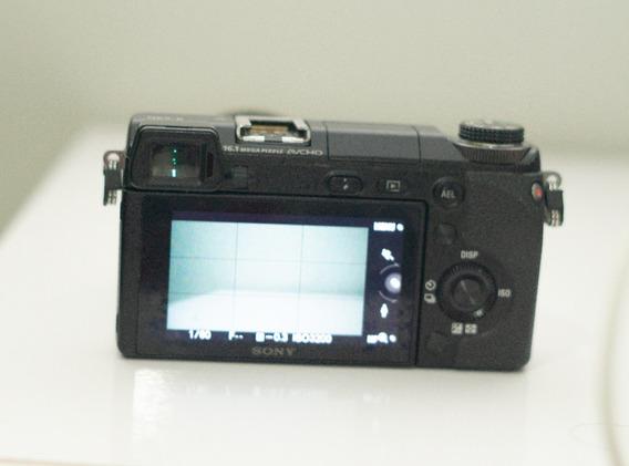 Câmera Sony Nex 6 - Lente E Três Baterias