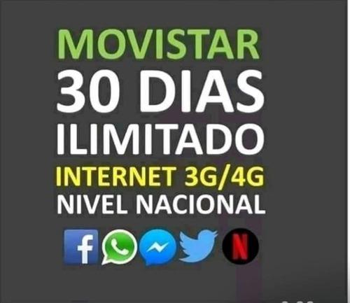 Internet Movistar Ilimitado A Nivel Nacional