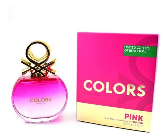 Colors Pink 80 Ml Eau De Toilette Spray De Benetton