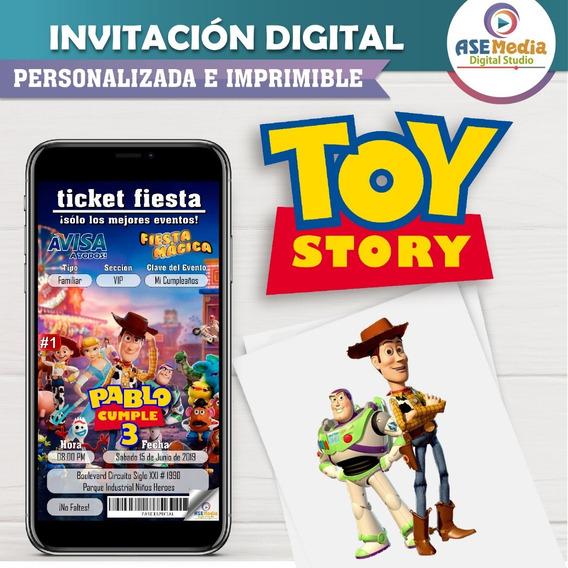 Toy Story | Invitación Digital Personalizada
