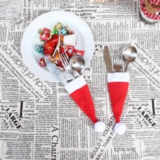 Adorno 5 Pcs Navidad Vajilla Decorativo Soporte Gggj