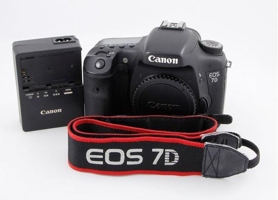 Canon 7d Cuerpo